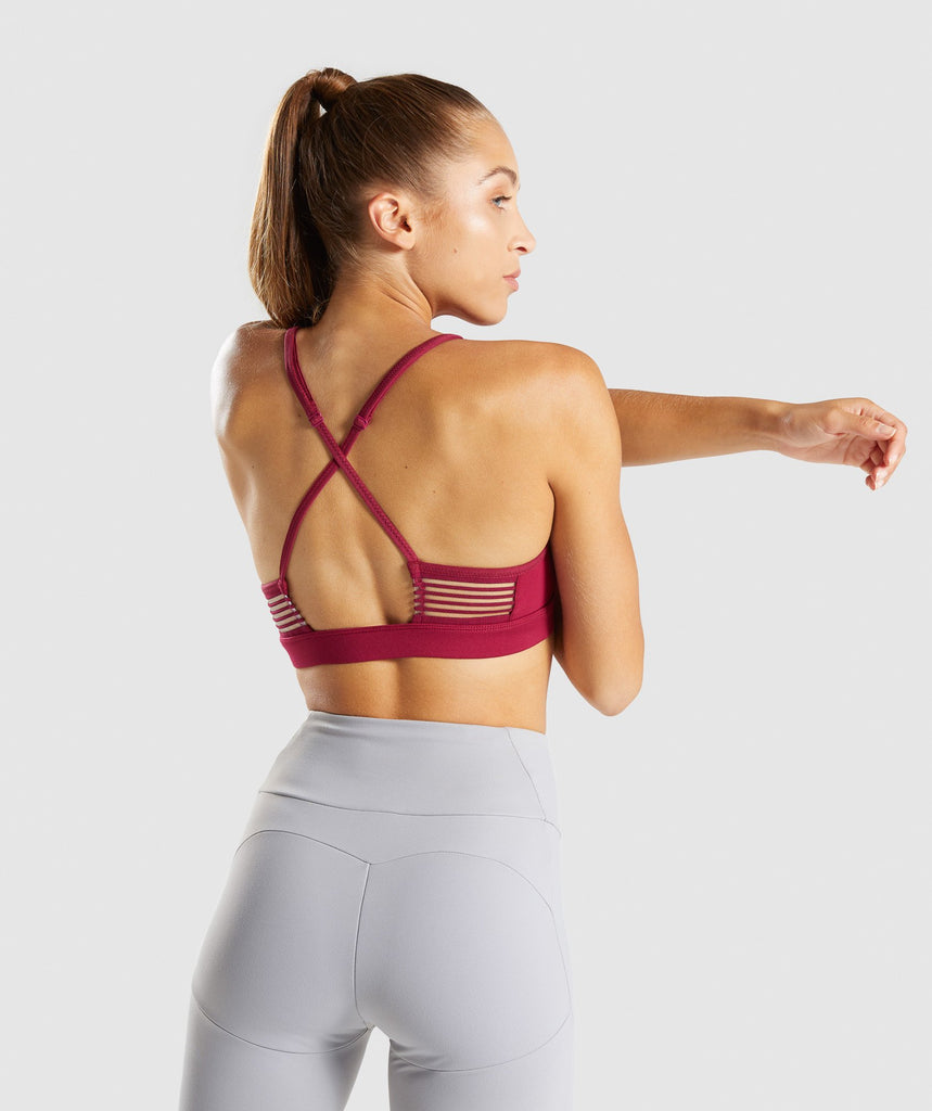 Gymshark Ease Sports Bra - Beet 2