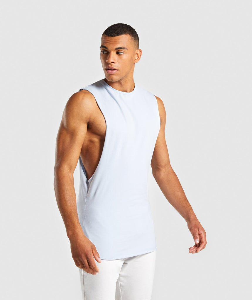 Gymshark Eaze Sleeveless T-Shirt - Clear Water 1