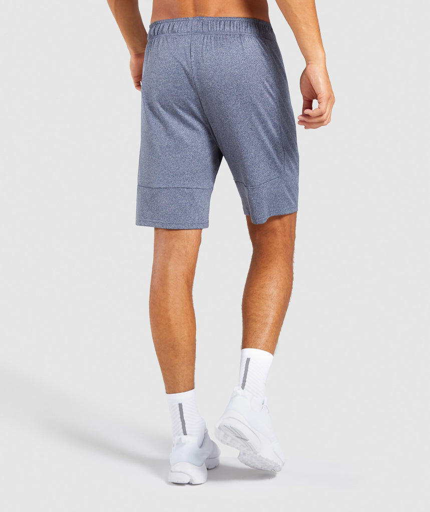 Gymshark Element Shorts - Aegean Blue Marl 2