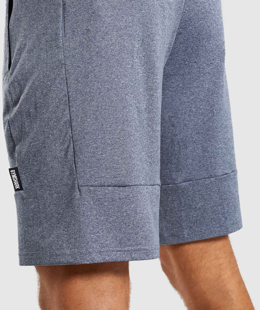 Gymshark Element Shorts - Aegean Blue Marl 6