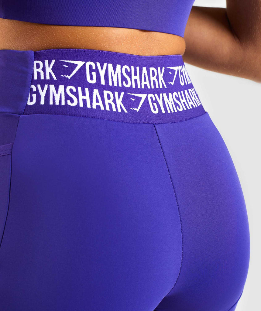 Gymshark Elevate Cycling Short - Indigo 6