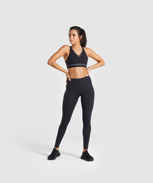 Gymshark Empower Sports Bra - Black 2