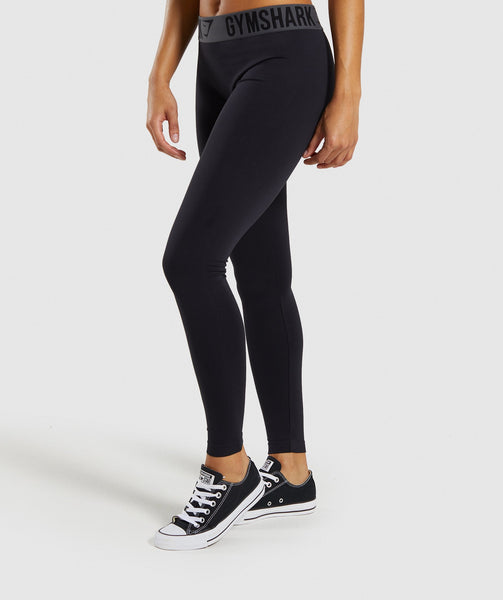 Gymshark Fit Leggings - Black 4