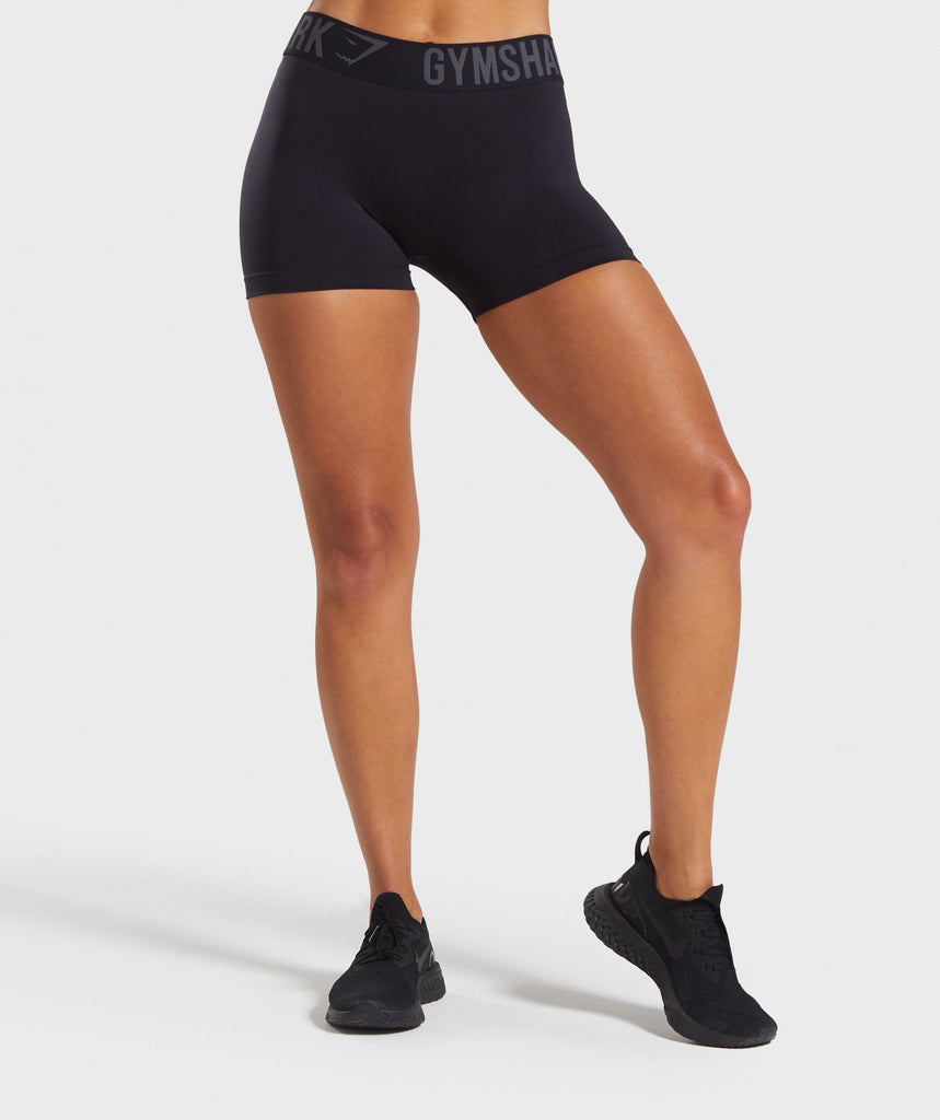 Gymshark Fit Shorts - Black/Black 1