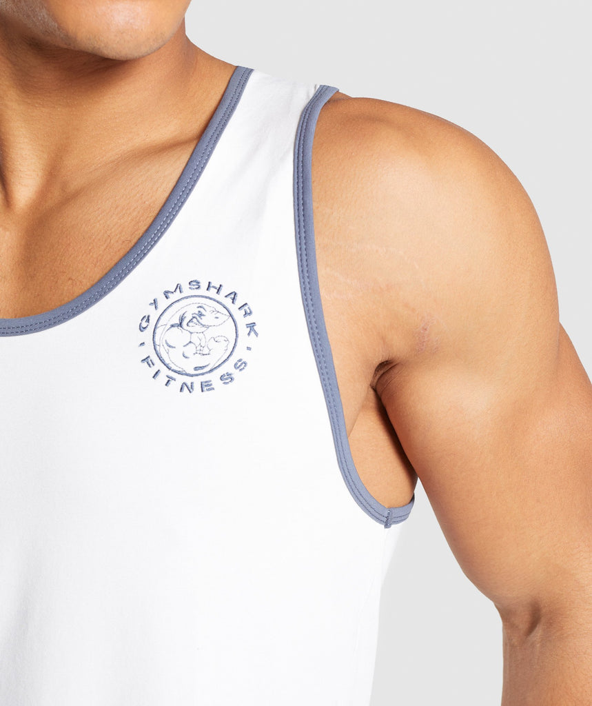 Gymshark Legacy Luxe Tank - Wolf Grey 6