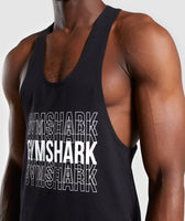 Gymshark Haze Stringer - Black 11