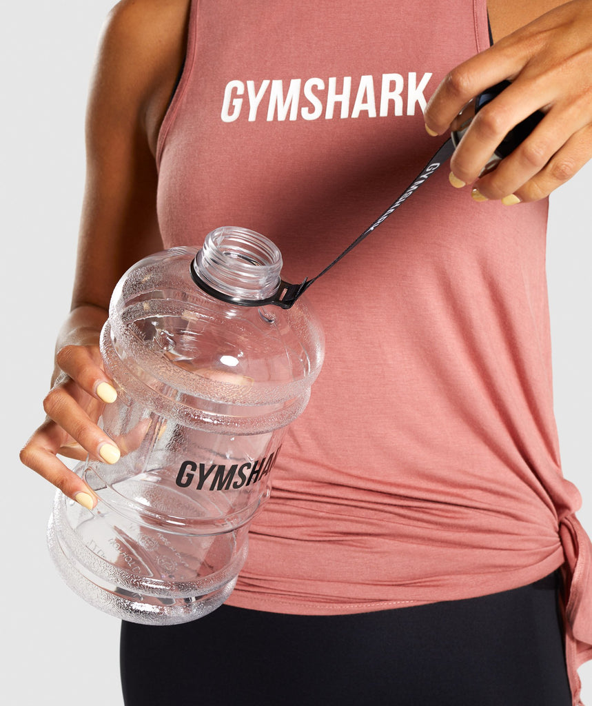 Gymshark Half Gallon Water Bottle - Black Logo 1