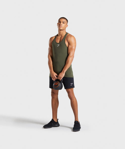 Gymshark Ion Stringer - Woodland Green 2
