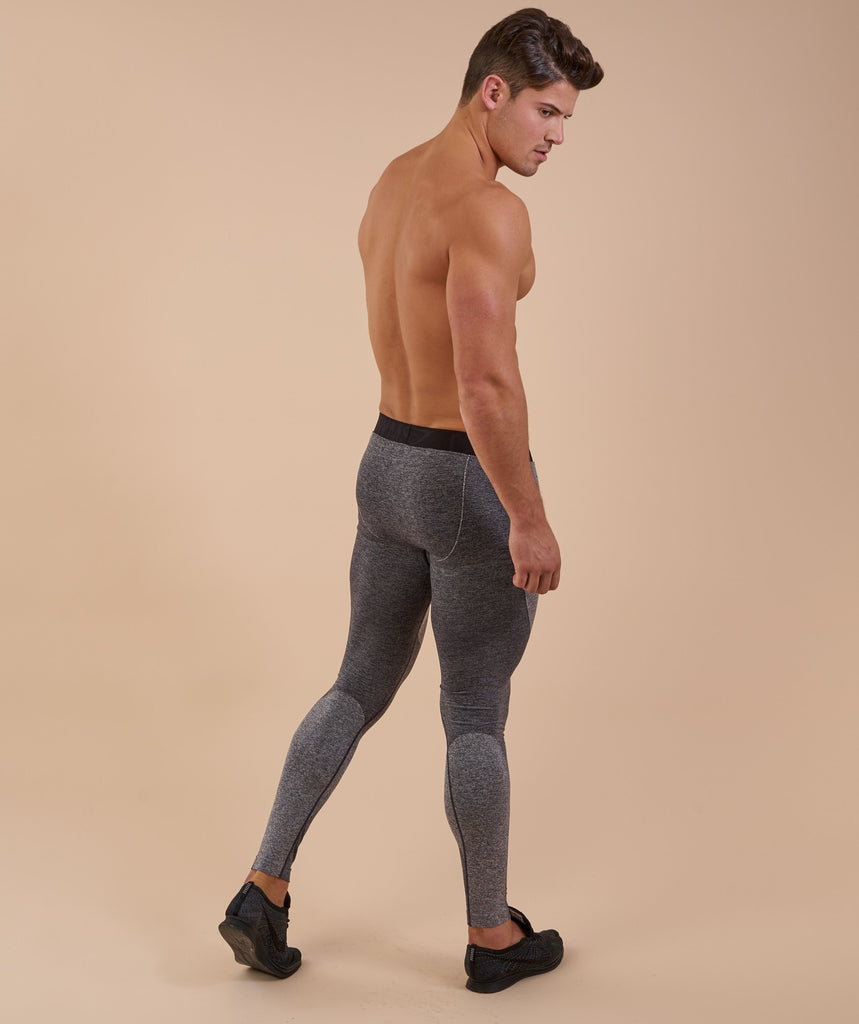 Flex Leggings - Charcoal Marl 2