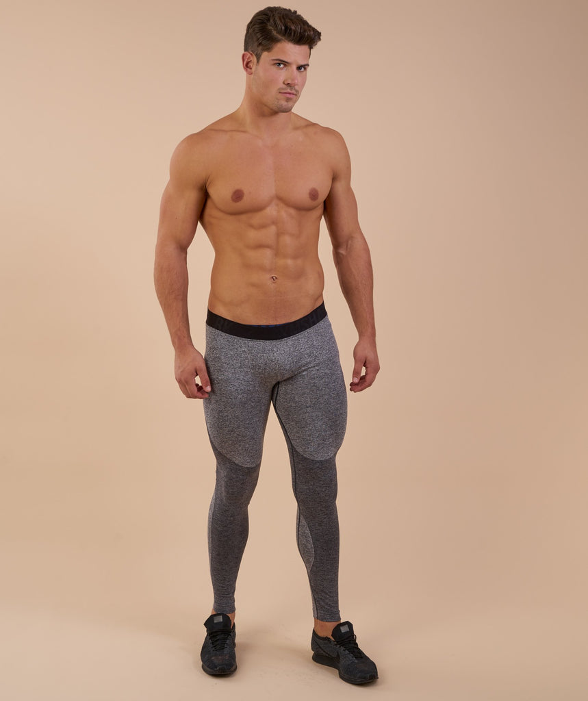 Flex Leggings - Charcoal Marl 1
