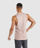 Gymshark Laundered Drop Arm Tank - Nude 8
