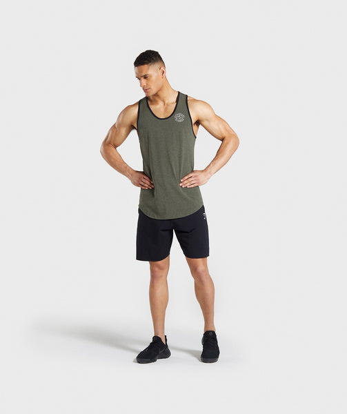 Gymshark Legacy Luxe Tank - Green 3
