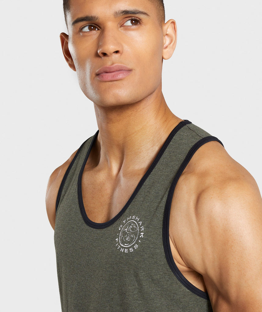 Gymshark Legacy Luxe Tank - Green 5
