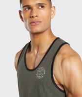 Gymshark Legacy Luxe Tank - Green 11
