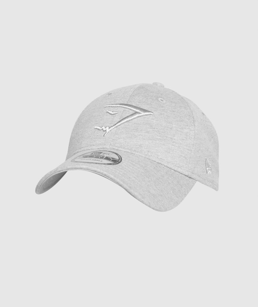 Gymshark New Era 9FORTY Adjustable- Grey Marl 1