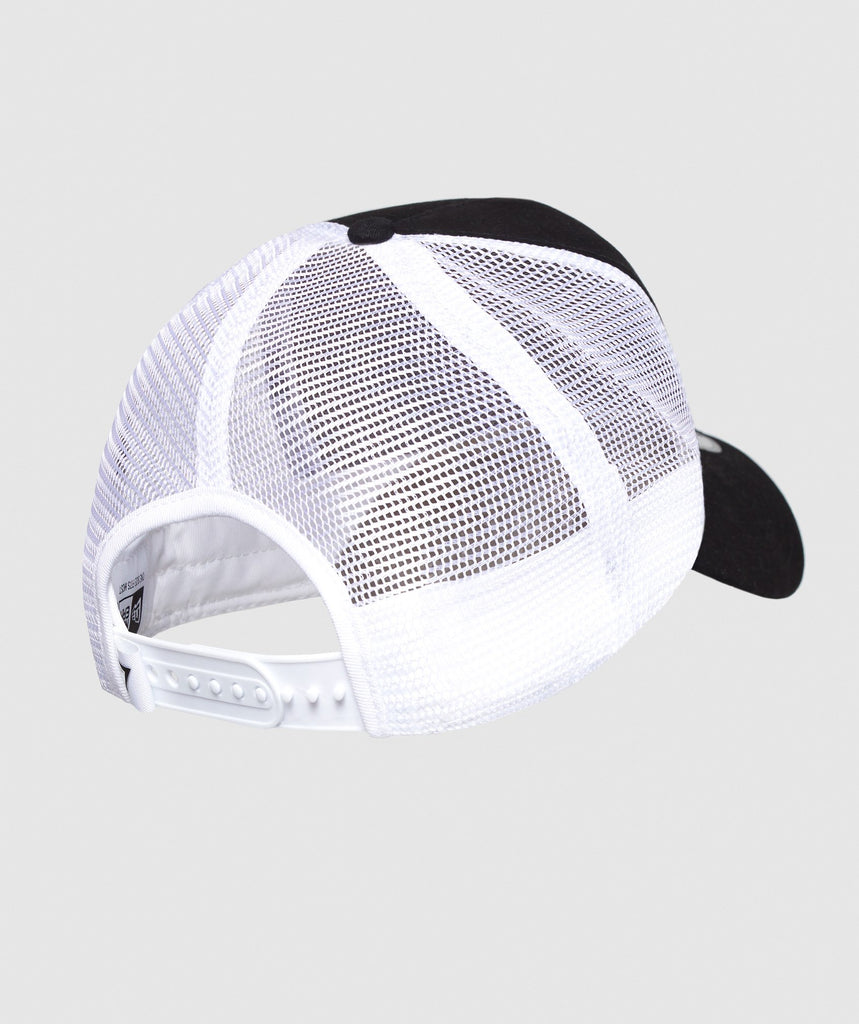Gymshark New Era Mesh Trucker - Black/White 2