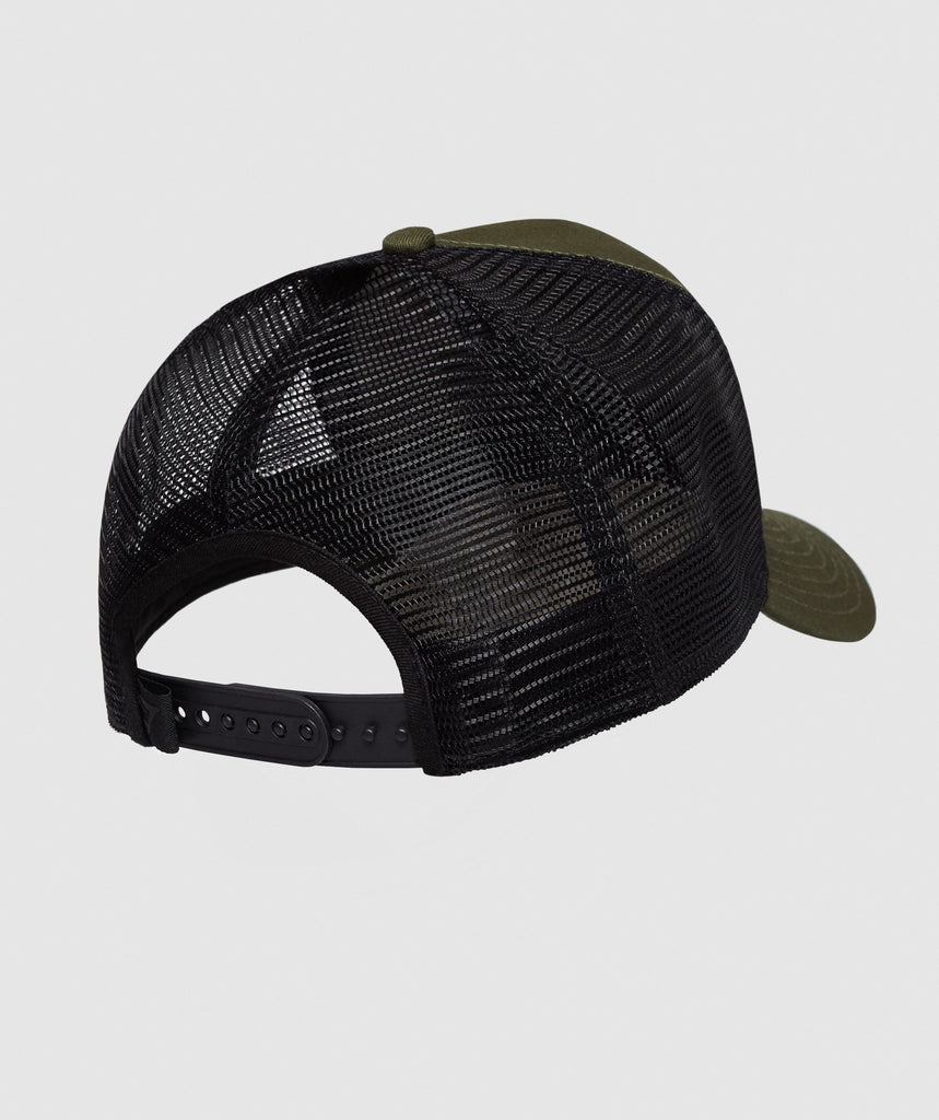 Gymshark New Era Mesh Trucker - Green 2