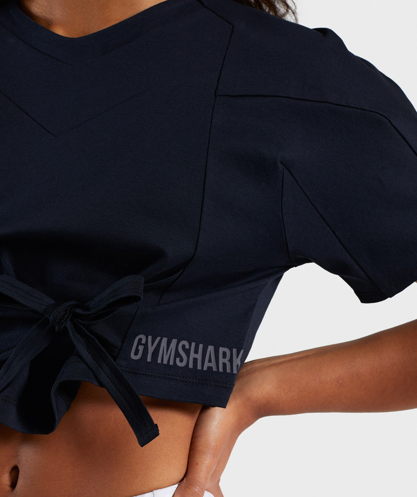 Gymshark Ori Crop Top - Black 5