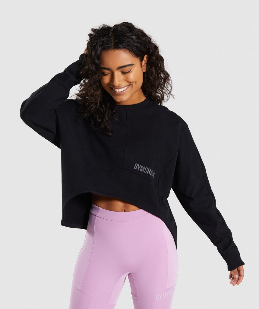 Gymshark Ori Sweater - Black 1