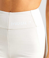 Gymshark Pastel Cycling Shorts - Sand 12