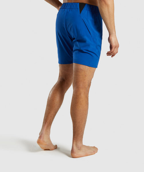 Gymshark Performance Board Shorts - Blue 4