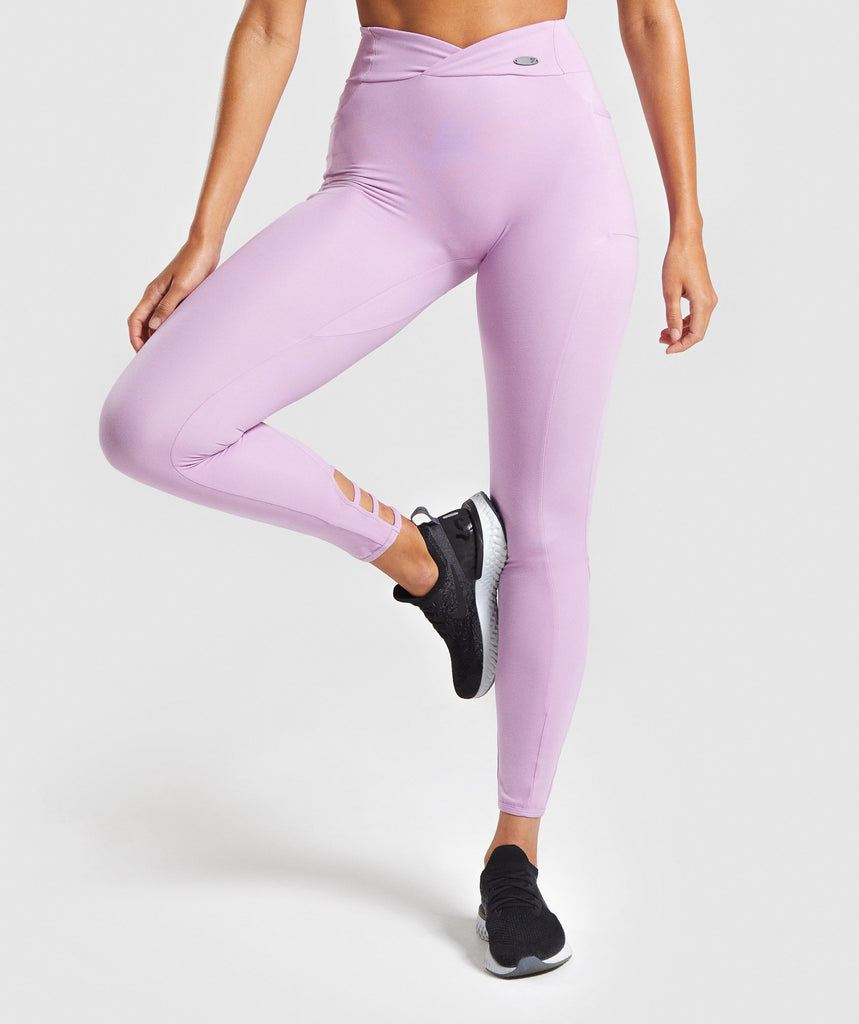 Gymshark Poise Leggings - Pink 1