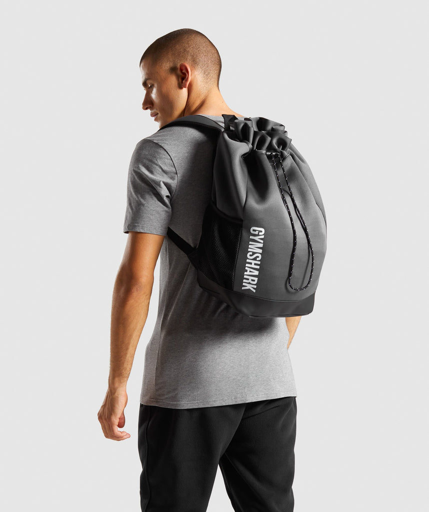 Gymshark Power Down Backpack - Charcoal 1