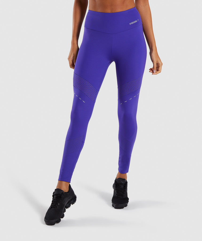 Gymshark Pro Perform Leggings - Indigo 1