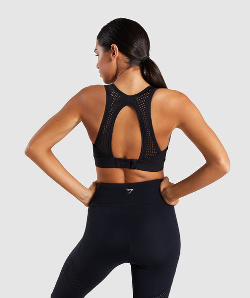 Gymshark Pro Perform Sports Bra - Black 1