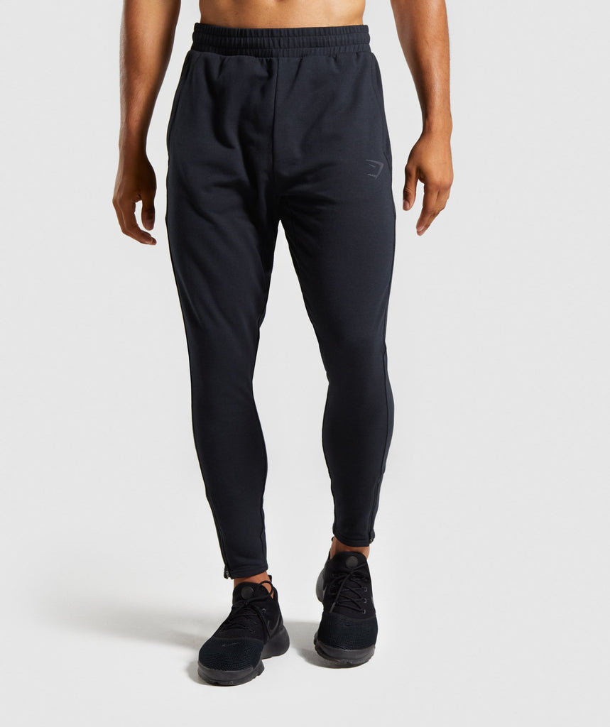 Gymshark Raw Joggers - Black 1