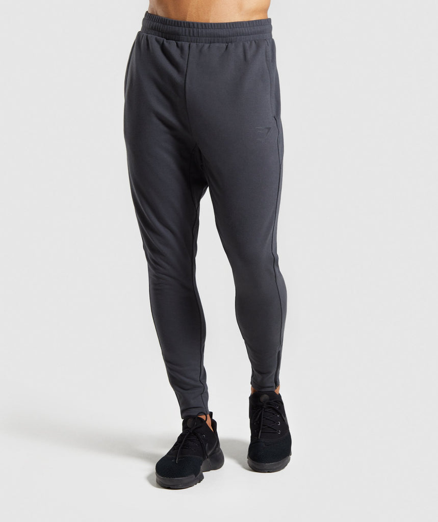 Gymshark Raw Joggers - Grey 1