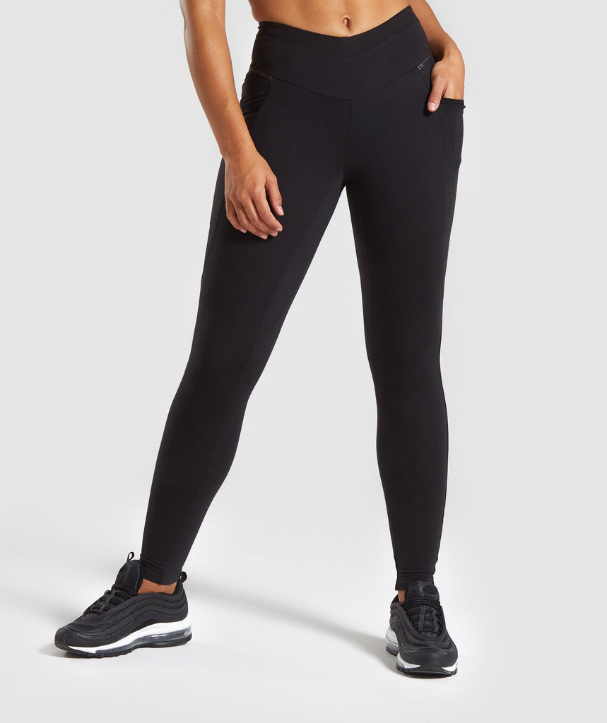 Gymshark Recess Leggings - Black 1
