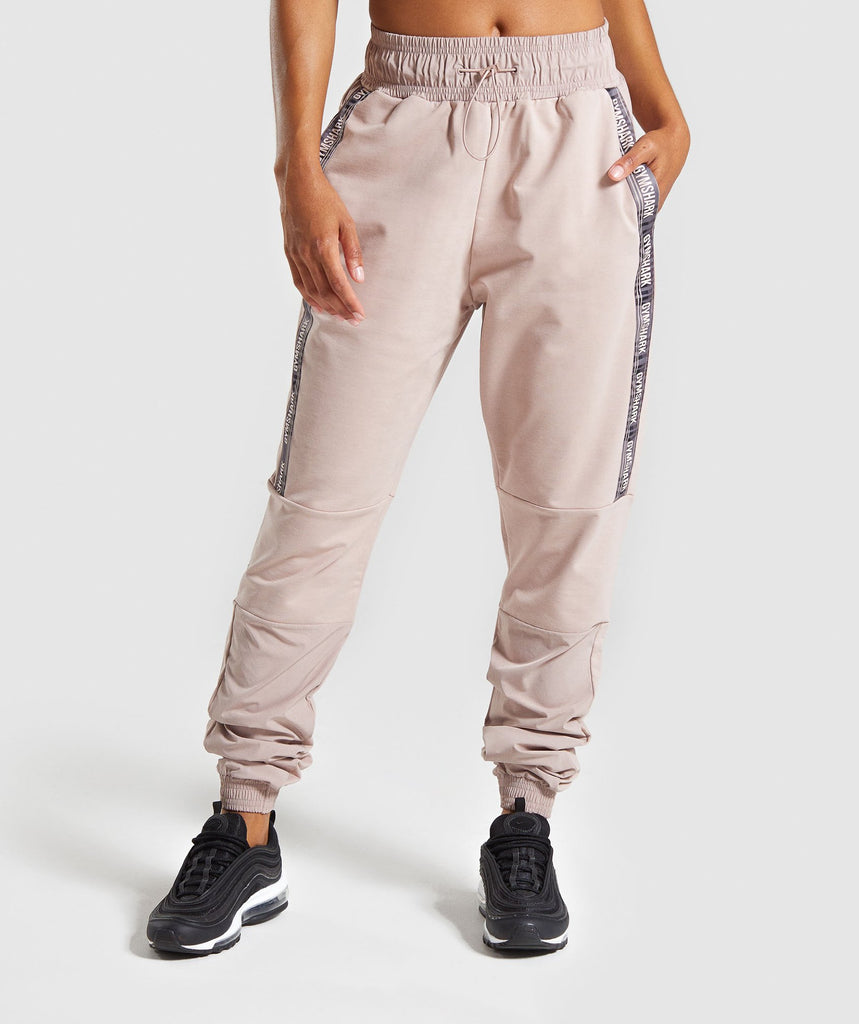 Gymshark Revival Joggers - Taupe 1