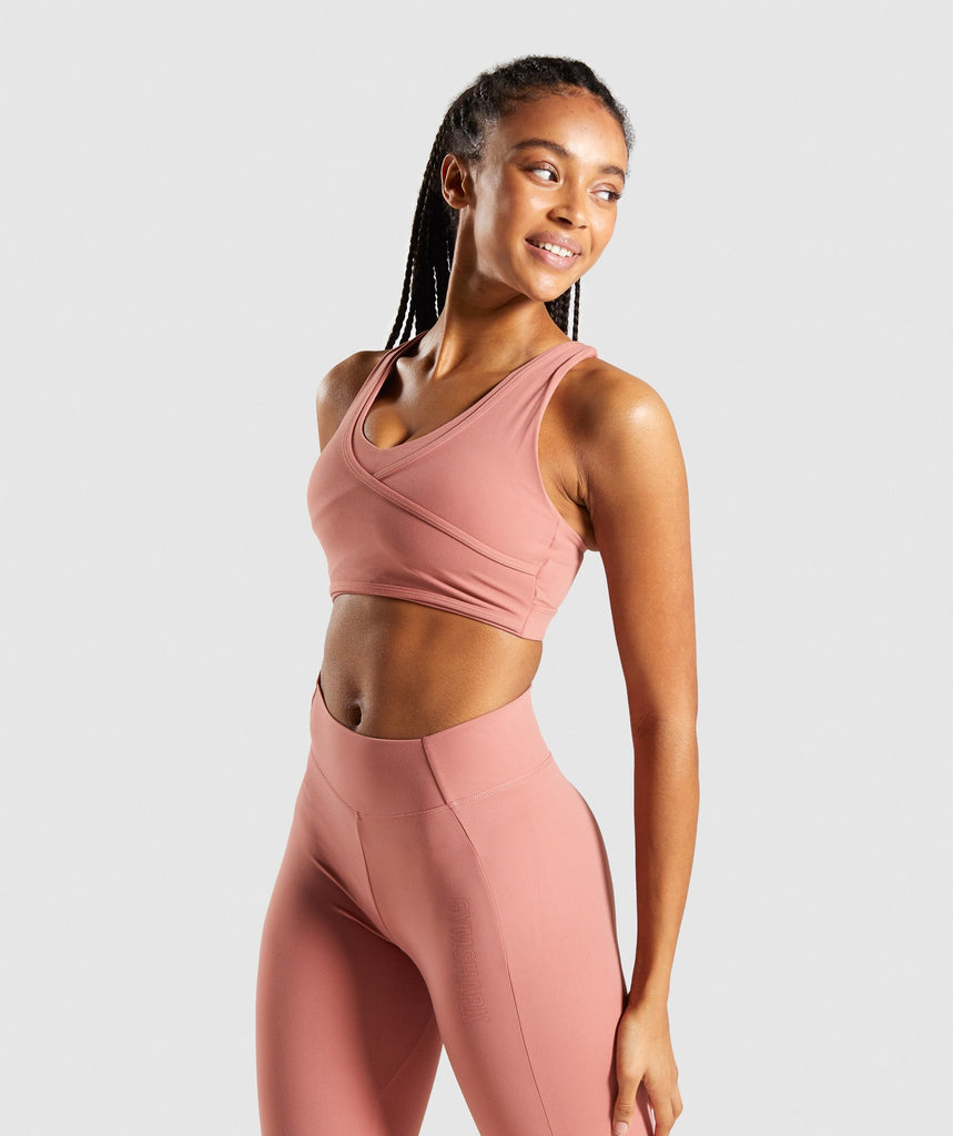 Gymshark Studio Sports Bra - Blush 1
