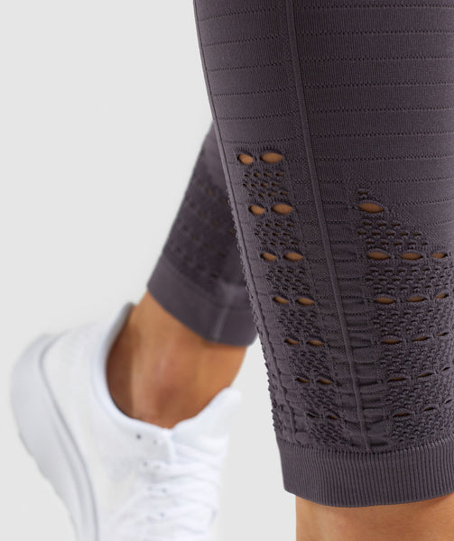 Gymshark Energy+ Seamless Leggings - Slate Lavender 4
