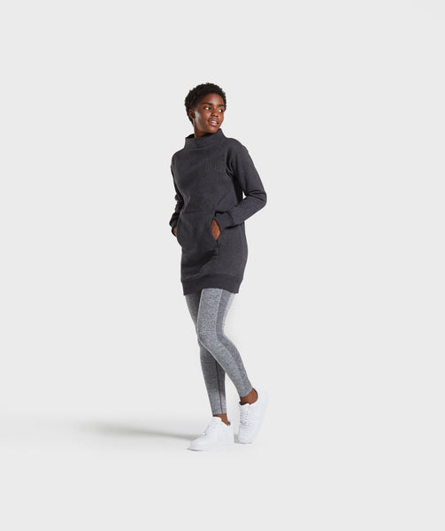 Gymshark So Soft Sweater - Black Marl 3