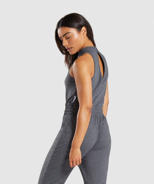 Gymshark Solace Jumpsuit - Charcoal Marl 1