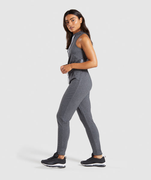 Gymshark Solace Jumpsuit - Charcoal Marl 2