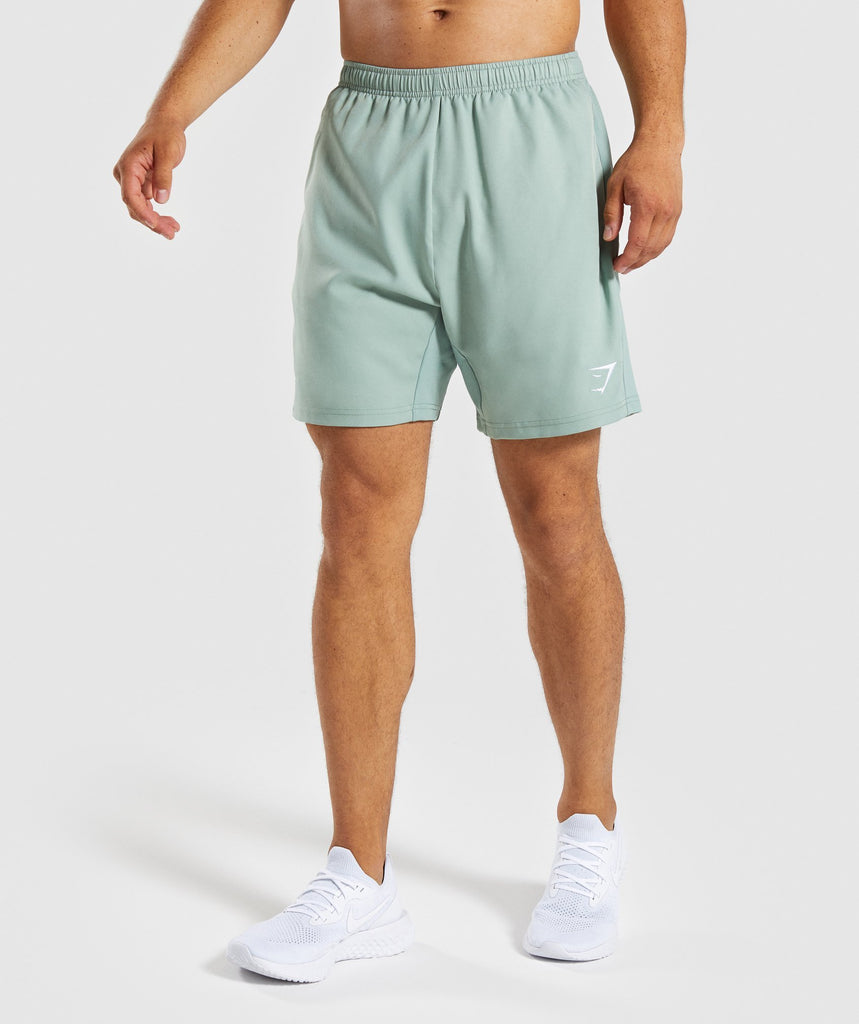 Gymshark Sport Shorts - Pale Green 1