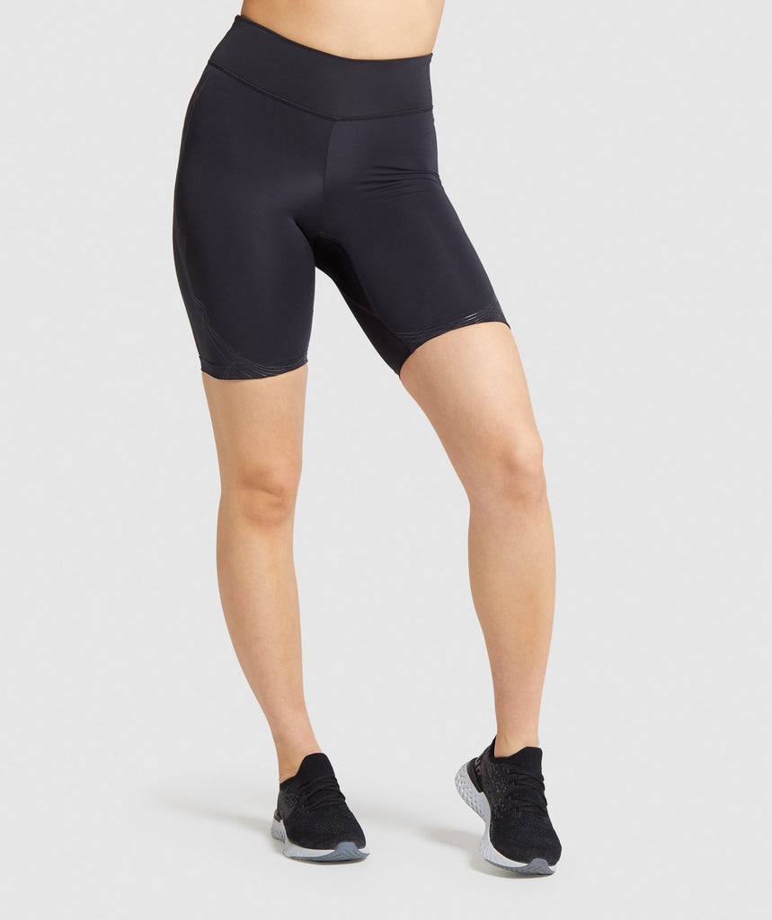 Gymshark Technical Cycling Shorts - Black 1