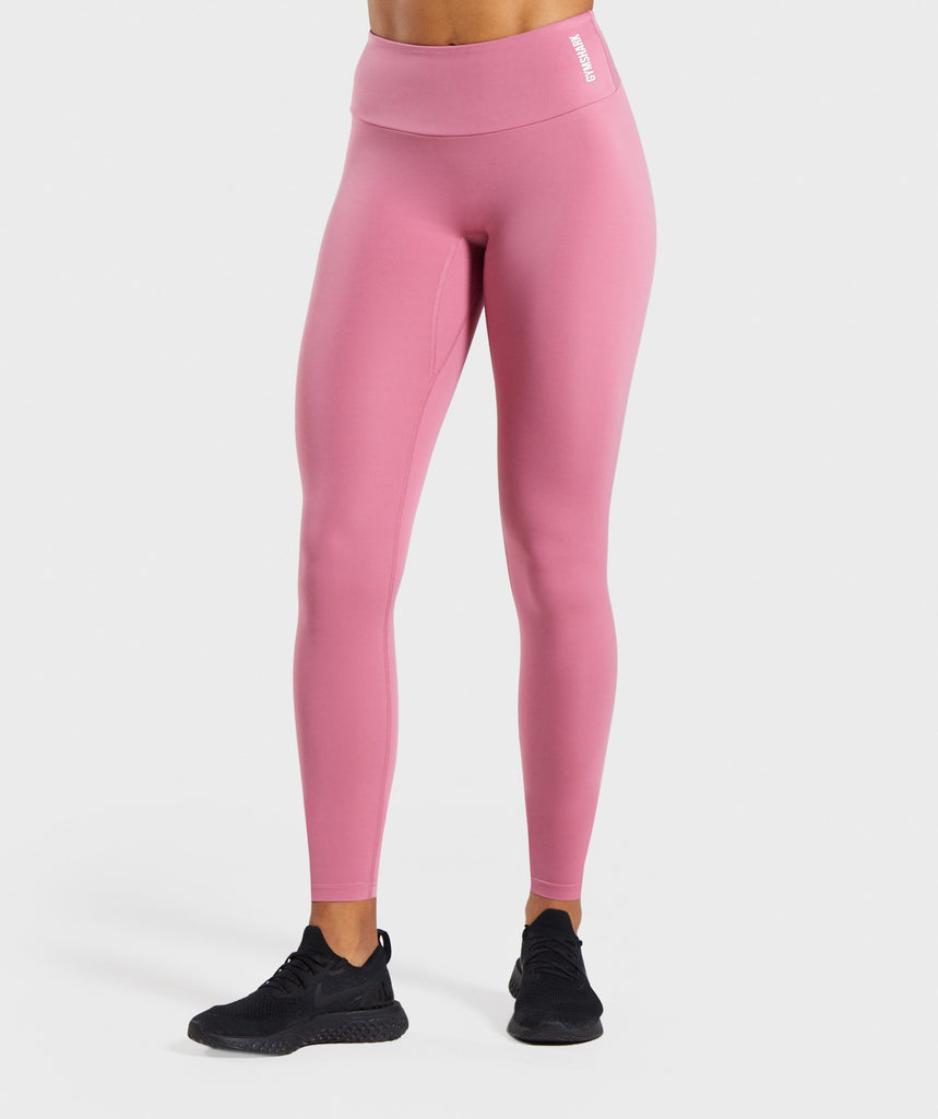 Gymshark Training Leggings - Pink 1