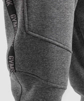 Gymshark Taped Joggers - Grey Marl 12