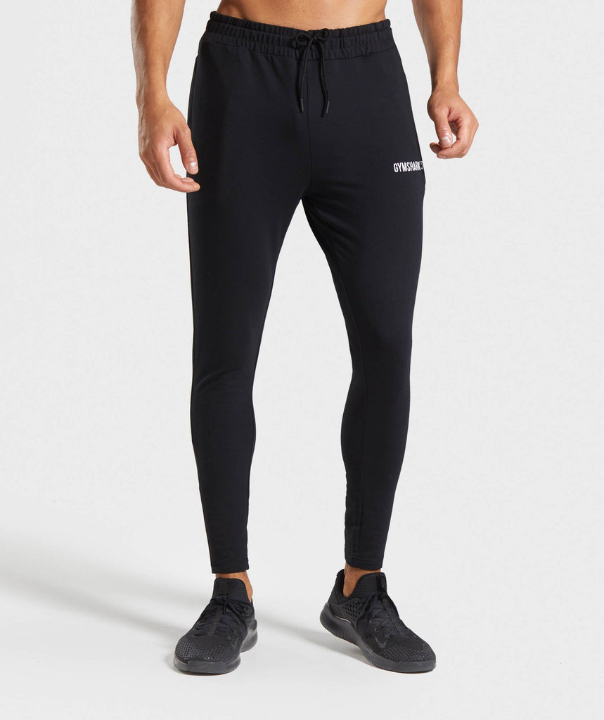 Gymshark Tapered Bottoms - Black 1
