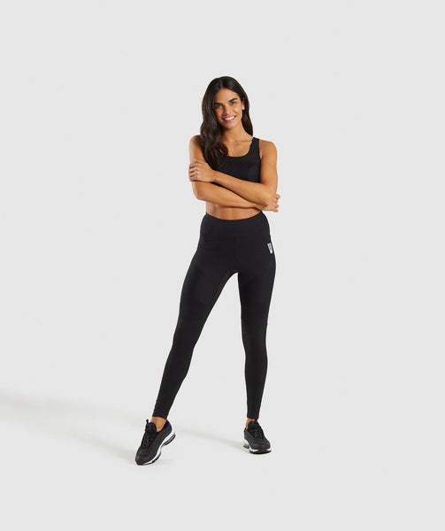 Gymshark True Texture Leggings - Black 3