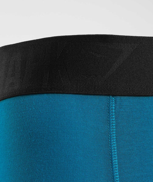 Gymshark Mens Hipsters 2pk - Deep Teal/Black 4