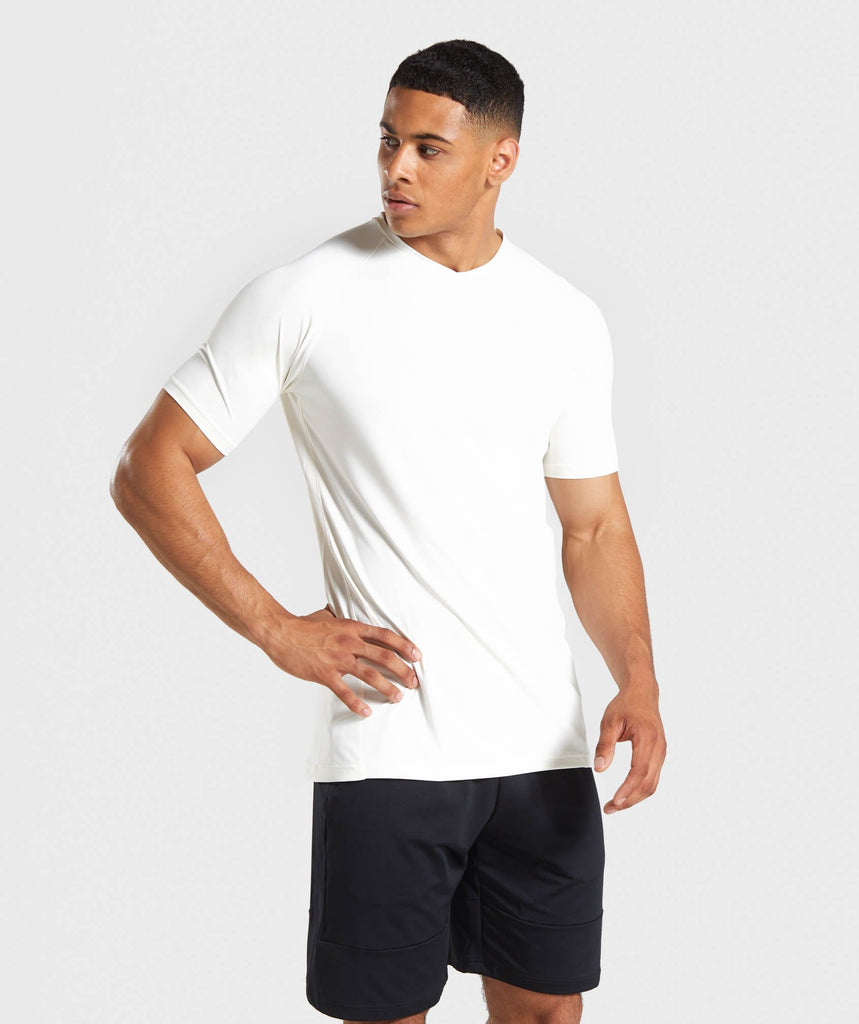 Gymshark Veer T-Shirt - Chalk White 1