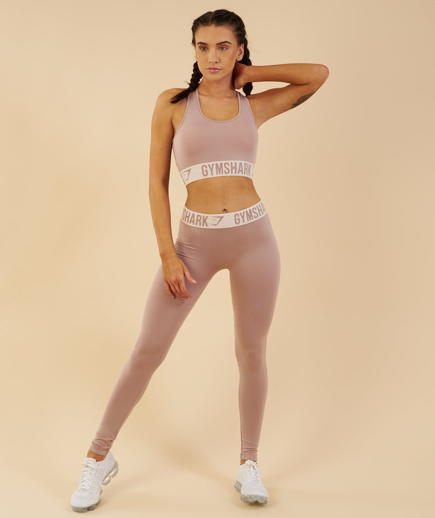 Gymshark Fit Leggings - Taupe/Sand 4