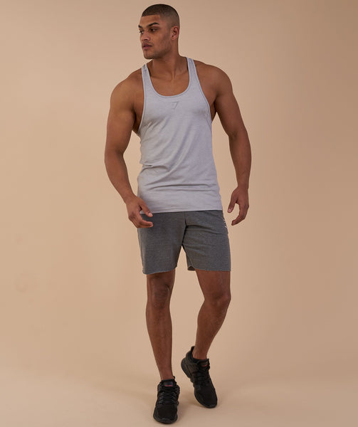 Gymshark Vertex Stringer - Light Grey 3