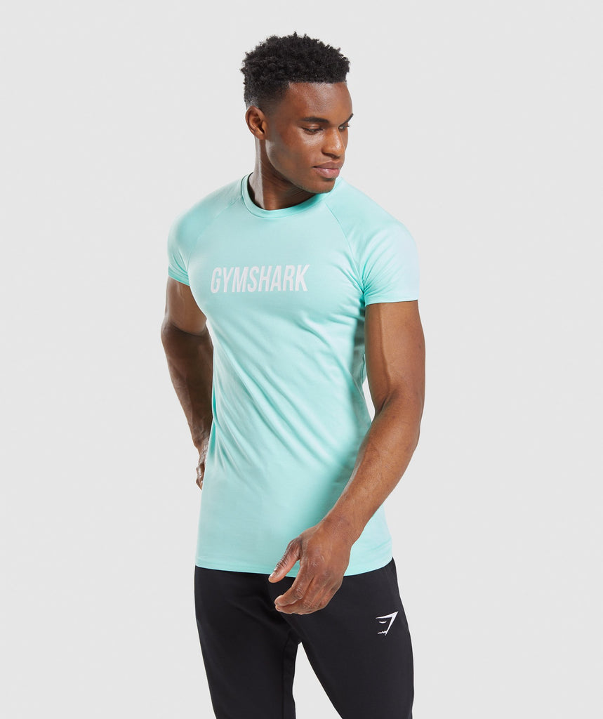 Gymshark Apollo T-Shirt - Mint 1