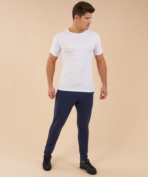Gymshark Apollo T-Shirt - White 2